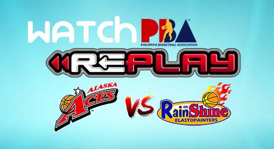 Video List: Alaska vs Rain or Shine game replay February 23, 2018 PBA Philippine Cup