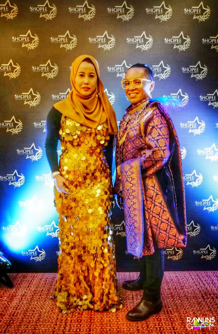 Shopee Seller Awards 2017, Shopee Malaysia, Seller of The Year, Mrs Te Mei Hong, Best Dressed Award, byrawlins, event, GLAM, Yang Berhormat Dato' Sri Hajah Nancy Shukri, Mr. Ian Ho