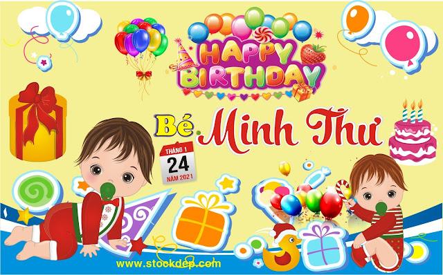 Download mẫu Phông sinh nhật