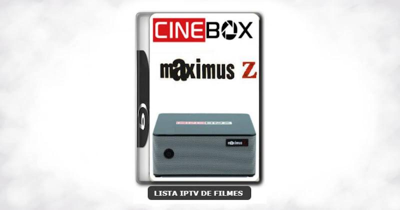 Cinebox maximus Z nova atualização com ajuste no sks