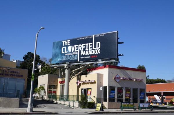 Cloverfield Paradox billboard
