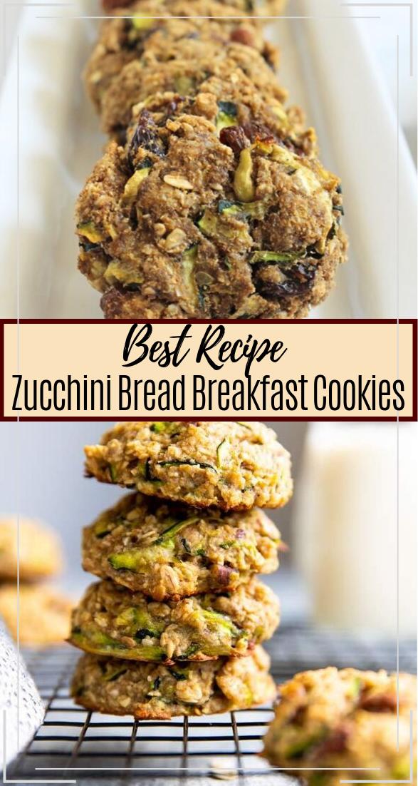 Zucchini Bread Breakfast Cookies #healthyfood #dietketo #breakfast #food