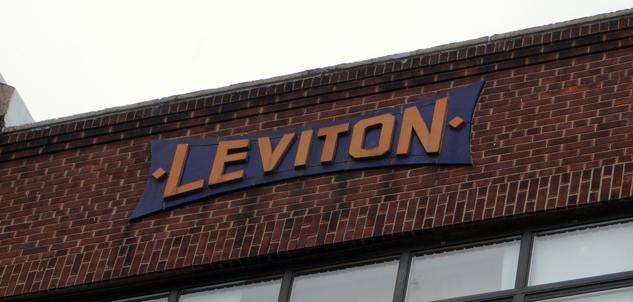 Brooklyn Relics: Leviton Factory & Warehouse - Greenpoint Industrial ...