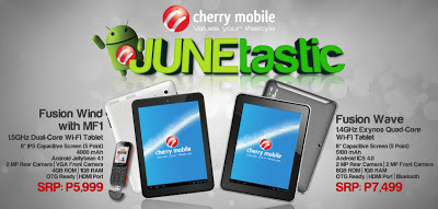 Cherry Mobile JUNEtastic Tablets