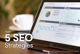 top 5 seo techniques to get in top of SERPs for Beginners