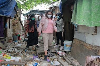Jumpai Warga Semarang Tinggal di Pasar, Tia Hendi Fasilitasi Tempat Layak Huni