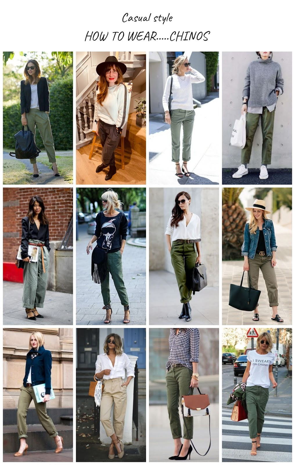 How to Wear: Chinos