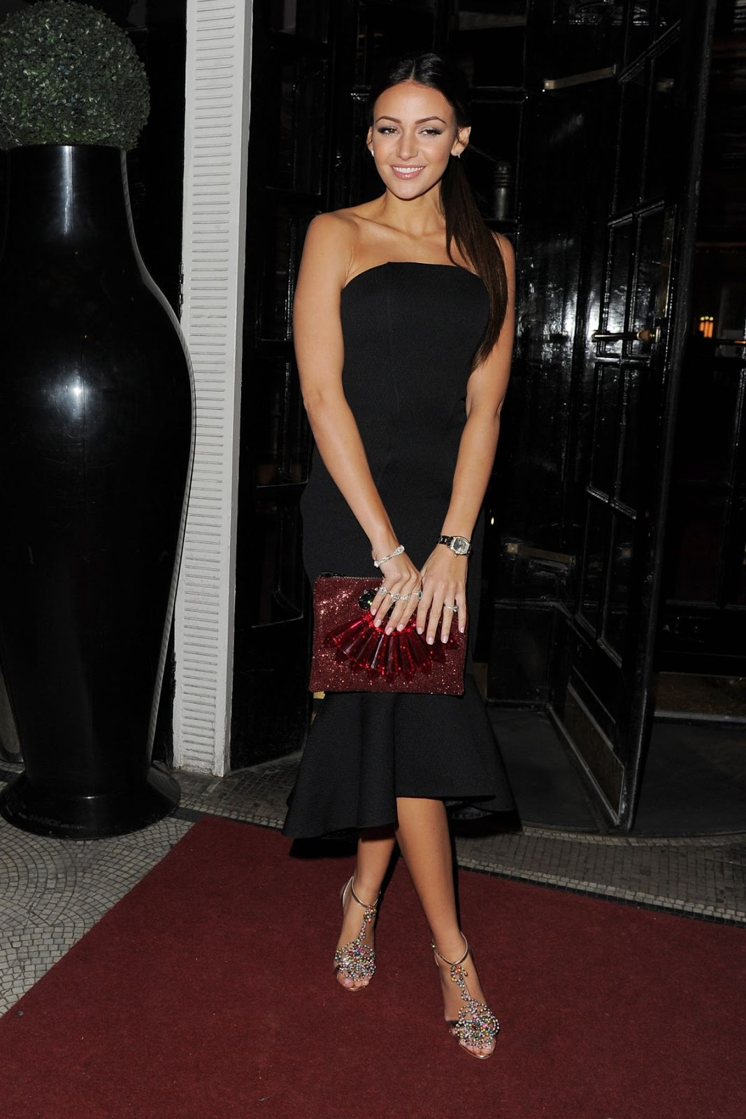Photos of Michelle Keegan Night Out In London Hd Photos