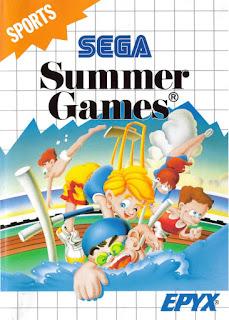 Jogue Summer Games Master System online grátis