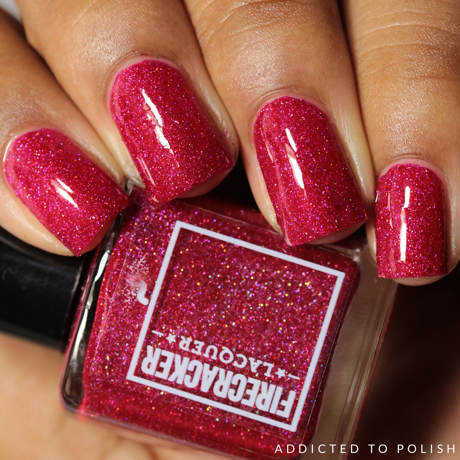 Fire Cracker Lacquer Cherry Poppin'