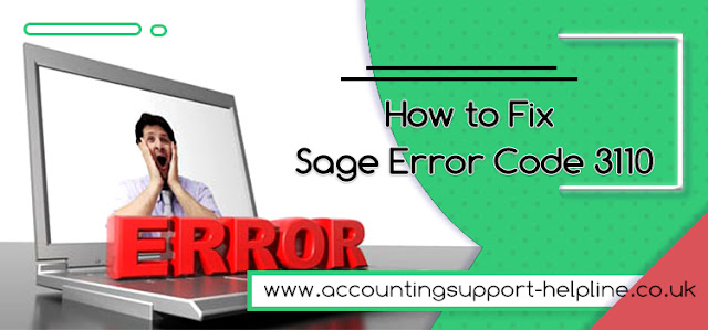 How to Fix Sage Error Code 3110
