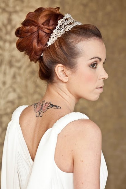 classic bridal hairstyles long