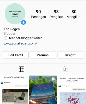 instagram dengan edit akun bisnis