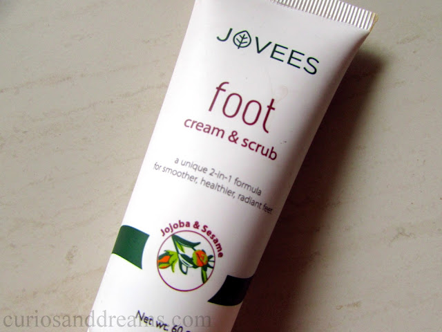 Jovees Foot Cream & Scrub review