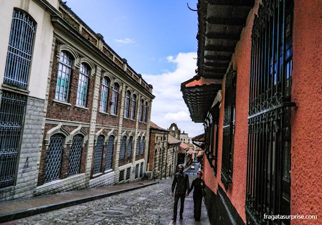 Bairro de La Canelaria, Centro Histórico de Bogotá, Colômbia