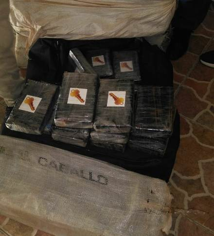 Autoridades ocupan 355 paquetes de droga dentro de vivienda en Villa Mella