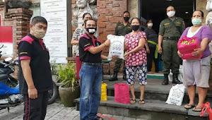 Pemkot Denpasar Beri Bantuan Sembako pada 9941 KK