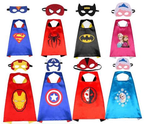 Superhero Cape and Mask
