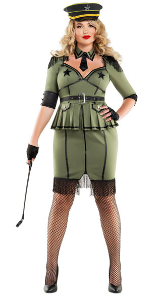Yandy Plus Size Army Brat Costume