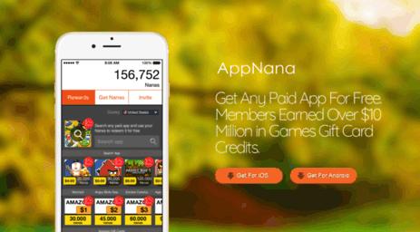 تحميل AppNana لربح البطاقات مجاناً