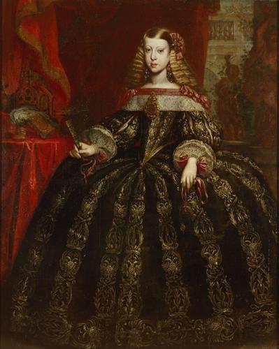 Gerard du Chateau - Retrato de la infanta Margarita Teresa - 1665