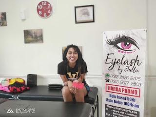Eyelash by Julie, Tawarkan Bulu Mata Berkualitas dan Kursus Singkat