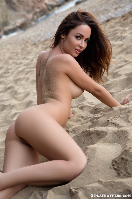 Adrienn Levai fully naked sexy back hot naked