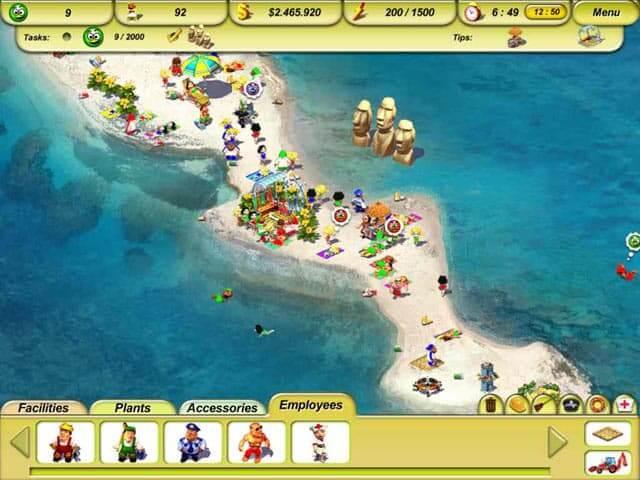 تحميل لعبة Paradise Beach 2