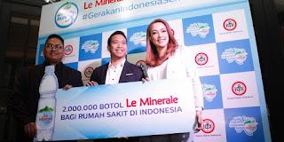 minuman le minerale dan ikatan dokter indonesia