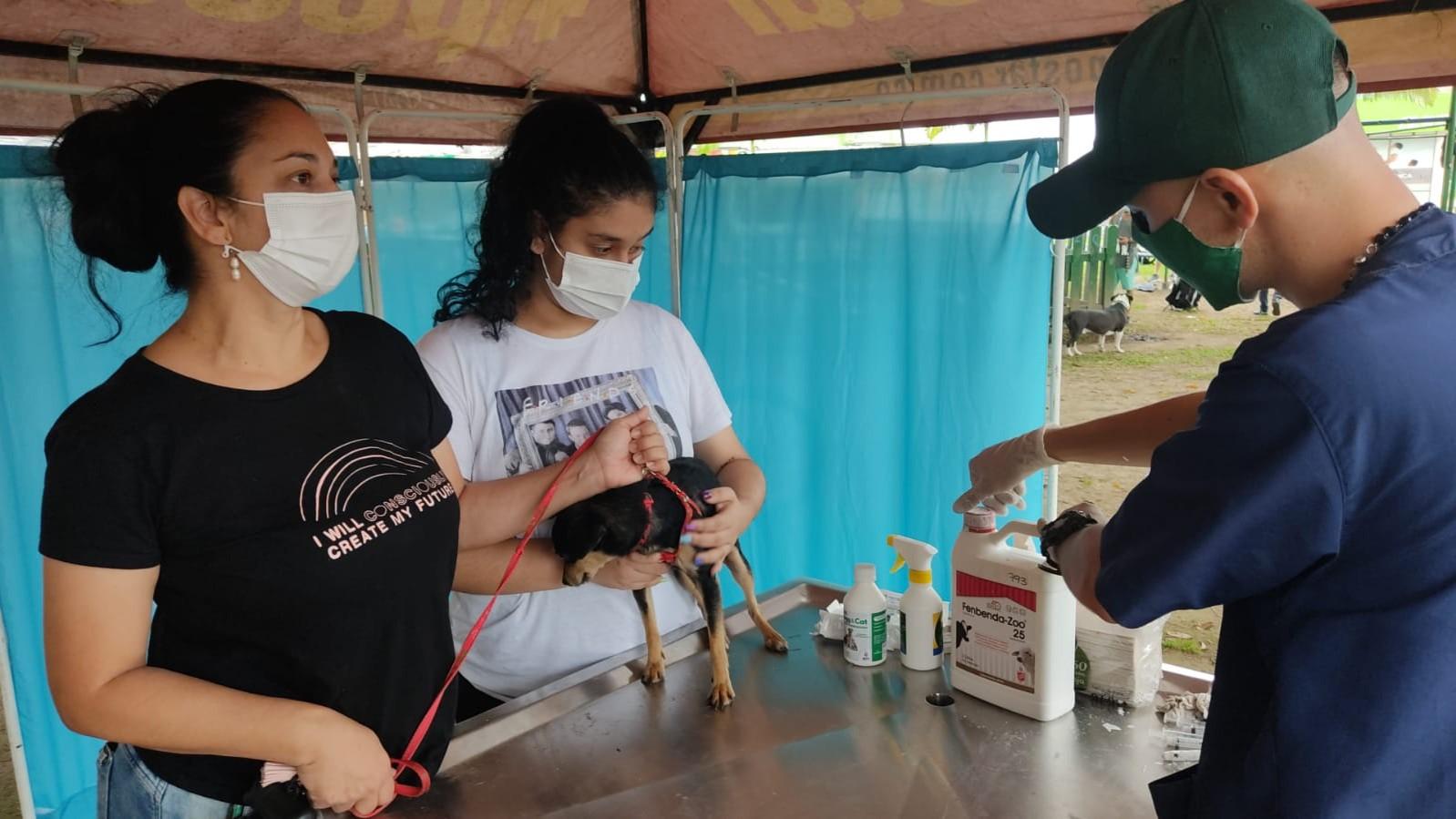 El Bioparque Ukumarí estuvo presente en el evento de reactivación del Parque Canino