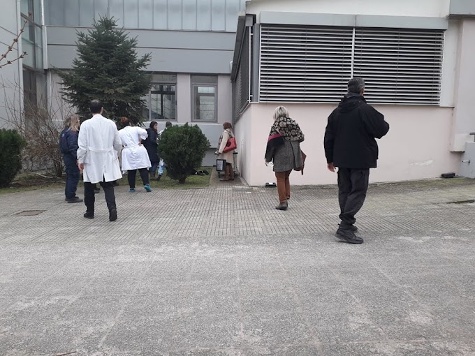 Σοκ στα Τρίκαλα: Γυναίκα έπεσε από τον 4ο όροφο του νοσοκομείου