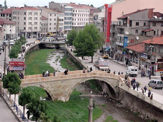 Eski Kastamonu Resimleri - Nasrullah Köprüsü (Kambur Köprü) - Sene 2000'lerin Başı