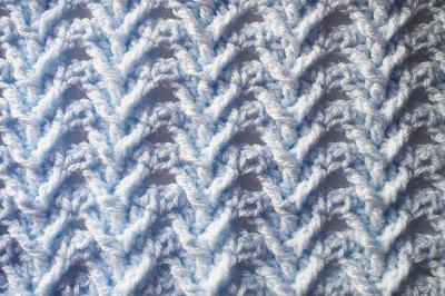 4 - Crochet Imagenes Puntada de espigas a crochet en relieve jerseys por Majovel Crochet