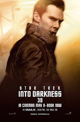 Star Trek Into Darkness Harrison played by Benedict Cumberbatch Character Poster