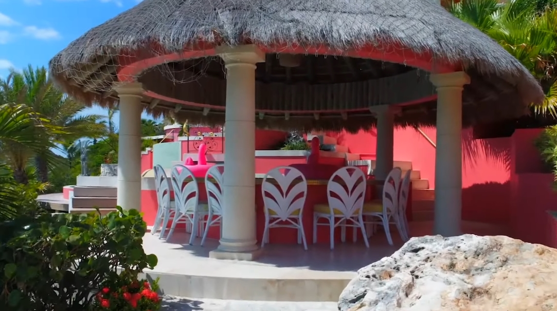 17 Exterior Design Photos vs. Villa Mani Turks & Caicos Tour