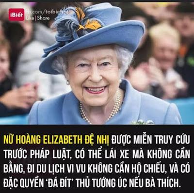 Những đặc ân của nữ hoàng Elizabeth-2