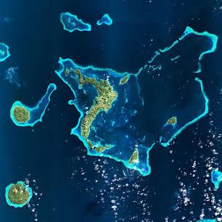 Citra Satelit SPOT 7 Wilayah Kepulauan Fiji