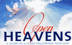 Open Heaven for Today 20 December 2019 – Living Holy I 5