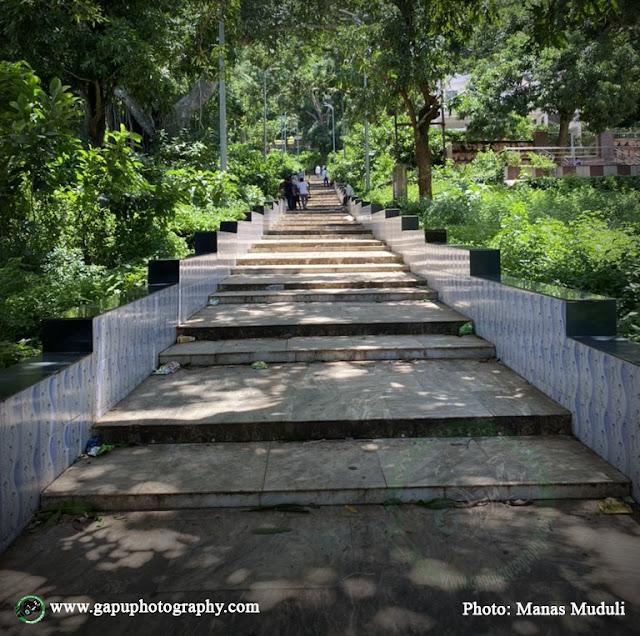 Stairs toBarunei and Karunei Temple of Khordha, Odisha