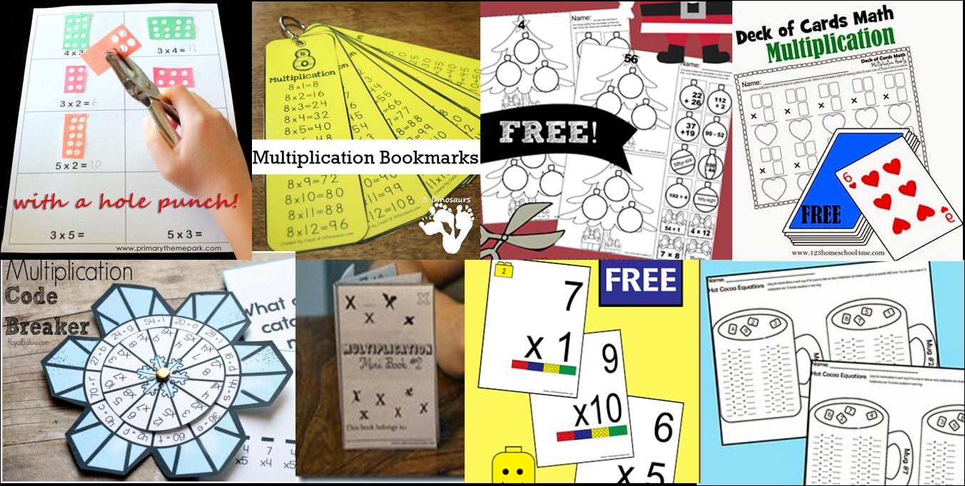 35 FUN & FREE Multiplication Activities