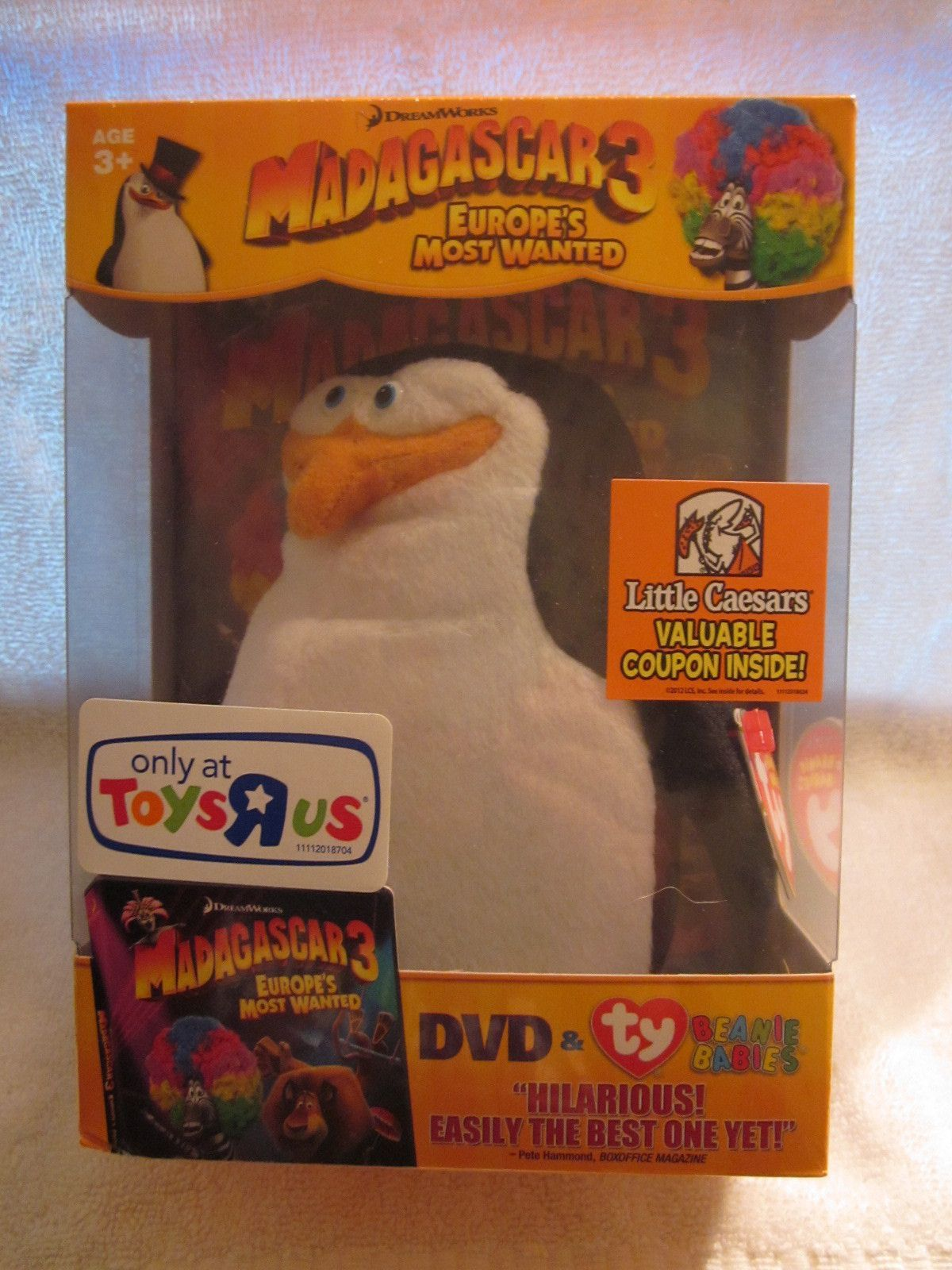 Blu Ray Dvd Exclusives Madagascar 3 Europe S Most Wanted Toys R