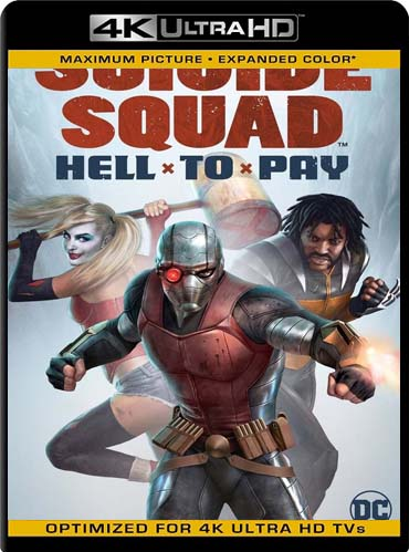 Suicide Squad Hell to Pay (2018) 4K HDR Latino [GoogleDrive] SilvestreHD