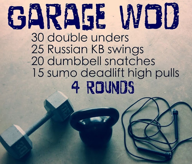Frugal finance: garage workout wod