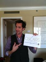 Billy Lowe celebrates Oscars w/ crew of Contiki
