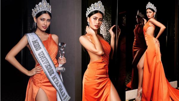 Thuzar Wint Lwin es Miss Universe Myanmar 2020