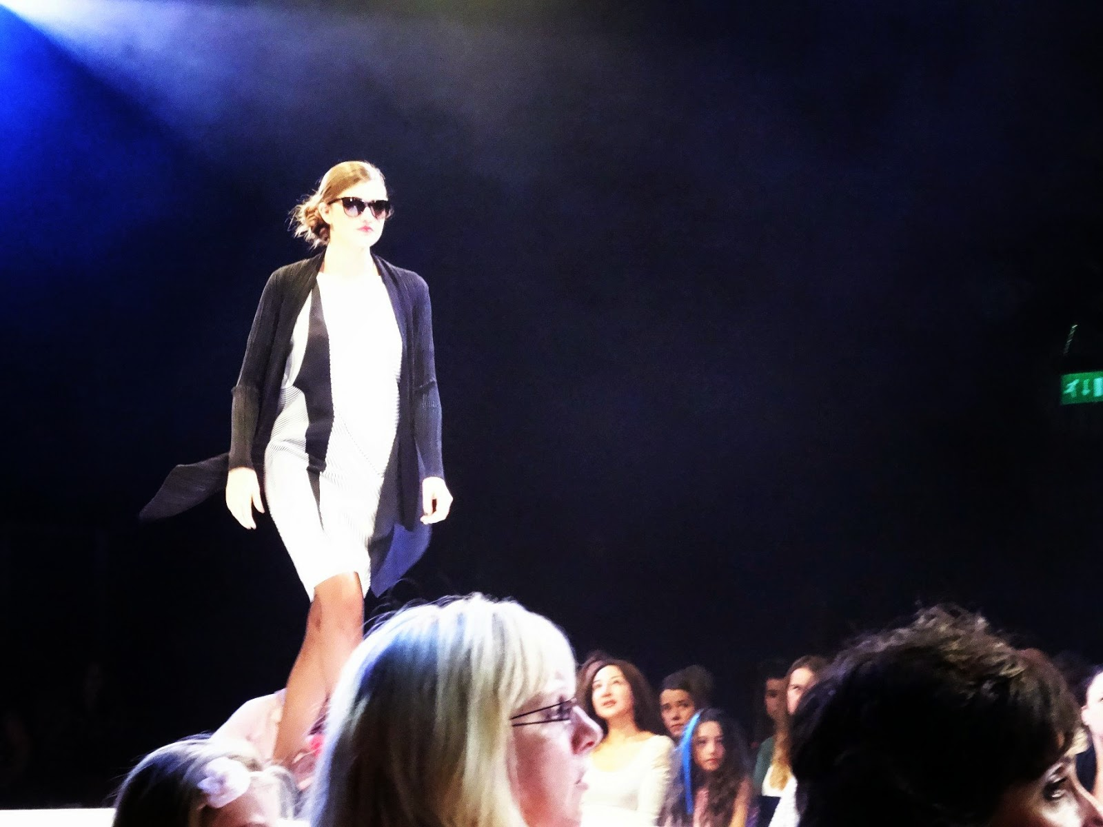 Fashion show at Bristol Fashion Week