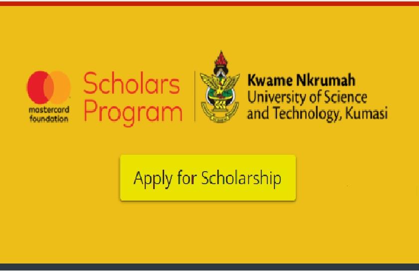 Mastercard Foundation Scholarship 2021 Program at KNUST