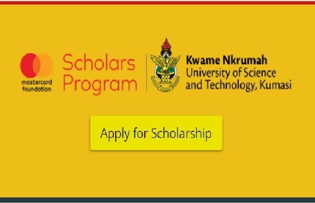 Mastercard Foundation Scholarship 2021 at KNUST