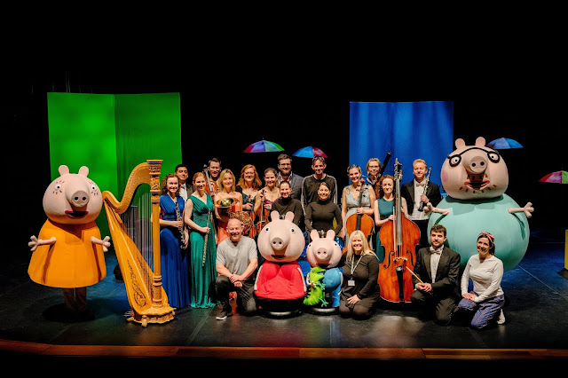 Peppa Pig My First Concert Characters and Orchestra