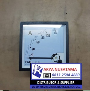 Jual Panel Meter 0 - 100/5 A Amperemeter Analog di Tanggerang